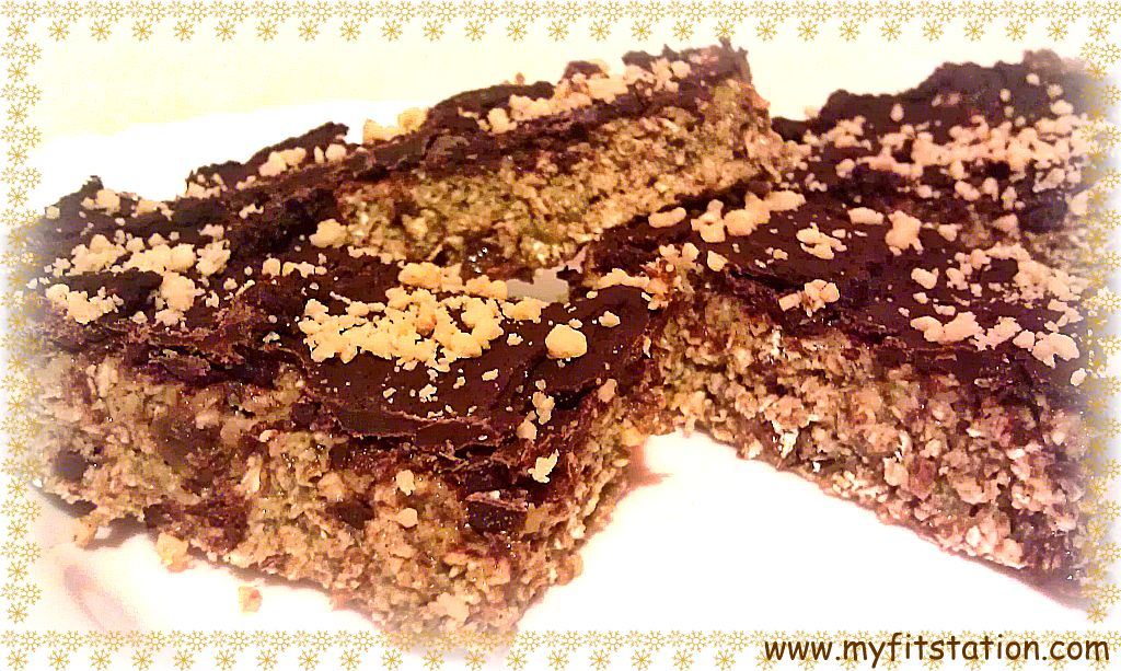 No-Bake CHOCO-PEANUT Protein Bar Recipe! - My Fit Station
