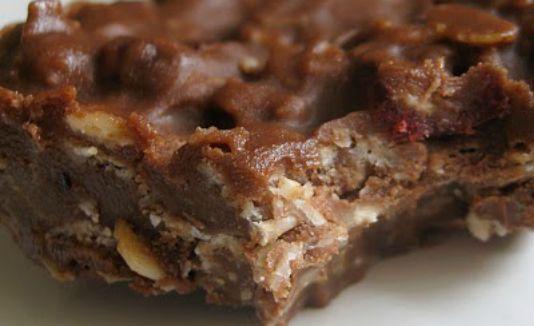BeFunky_oatmeal chocolate peanut butter no-bake candy bar