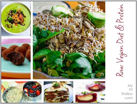 raw vegan diet and protein