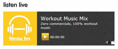 fitmix.fm workout music img