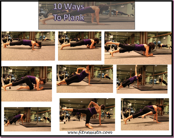 10 ways to plank