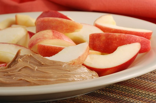 7 day shred meal plan apples and peanut butter