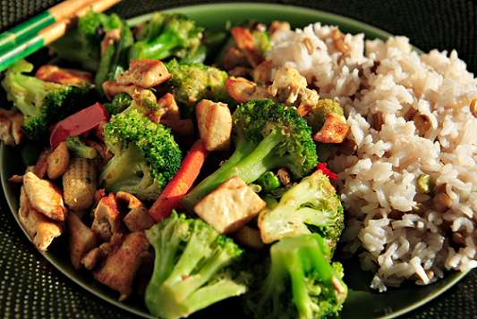 7 day shredding meal plan rice veggies and tofu