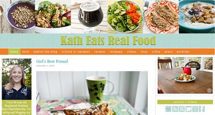 Kath eats real food