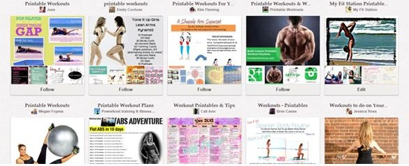 Pinterest HIIT Workouts: List of Exercise at Home Ideas