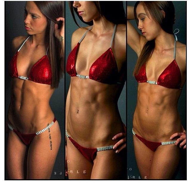 becoming a bikini fitness competitor 10 weeks out: bikini
