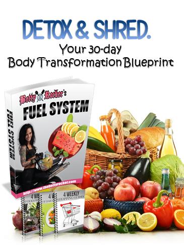 Betty Rocker Body Fuel System