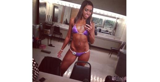 Samantha bikini fitness competition