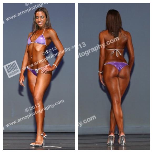 Sam's bikini fitness competition journey