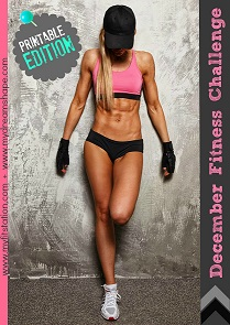 December Fitness Challenge - Printable Edition 2013 preview