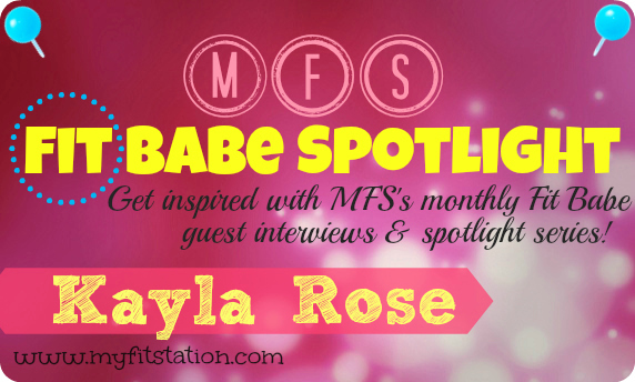 MFS Fit Babe Spotlight Kayla Rose