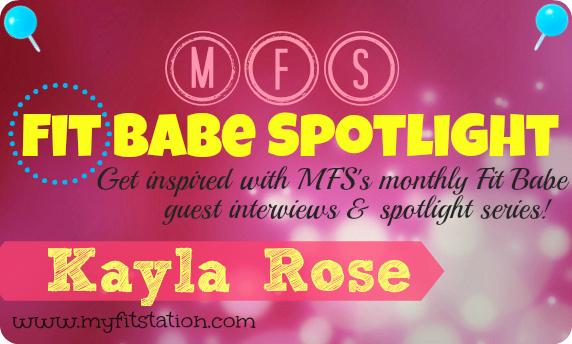 MFS Fit Babe Spotlight Kayla Rose