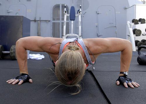 upper body melt-down workout