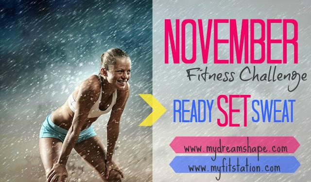 November Fitness Challenge: Ready SET Sweat