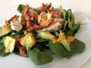 clean recipes on the go: peri peri healthy salad