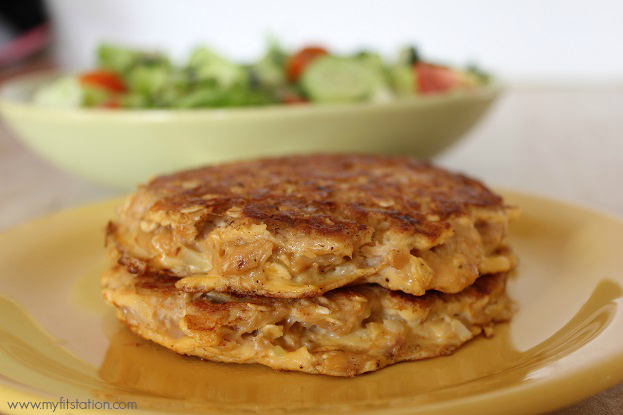 Healthy tuna patties quick easy recipe my fit station for Healthy tuna fish recipes