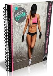 December fitness challenge DELUXE edition eBook