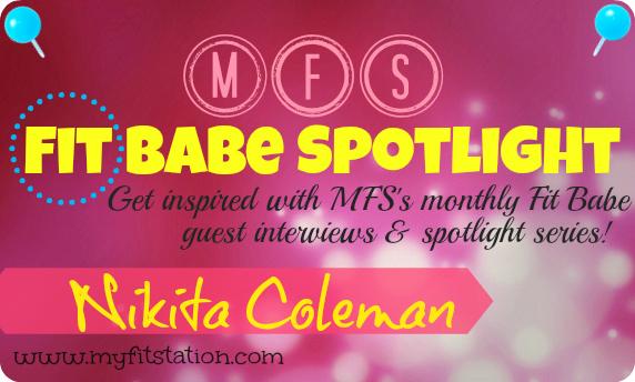 MFS Fit Babe Spotlight Nikita Coleman