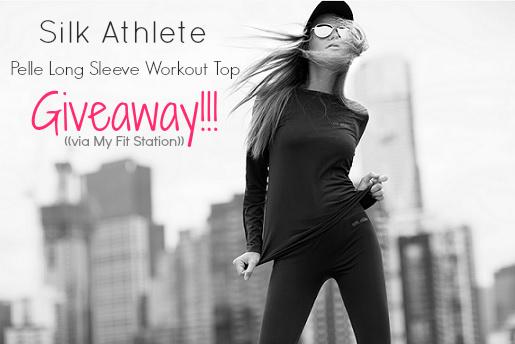 Silk Athlete PELLE long sleeve top giveaway