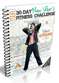 buy 2014 New Year's Resolution Fitness Challenge eBook