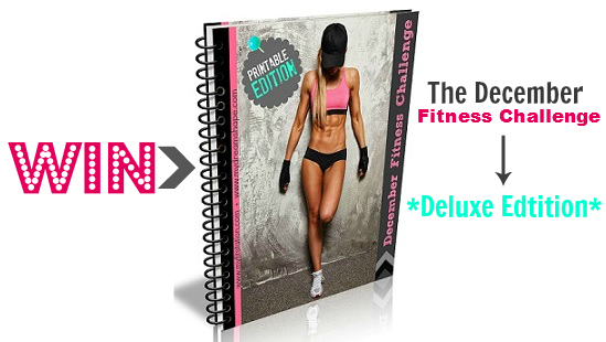 featured fitness giveaway December fitness challenge eBook