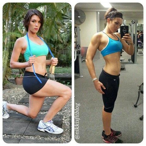 fitness babe interview Nikita Coleman progress