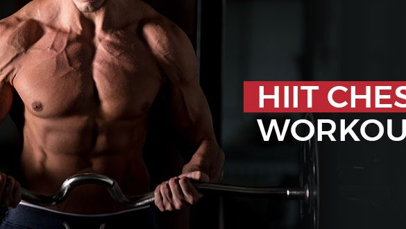 HIIT Chest Workout Featured Image