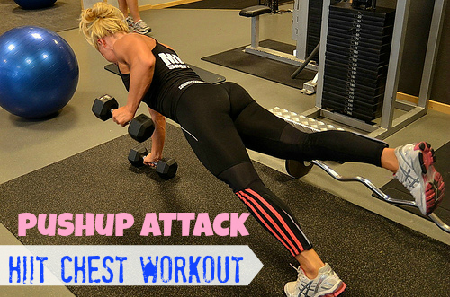 Pushup Attach - HIIT Chest Workout