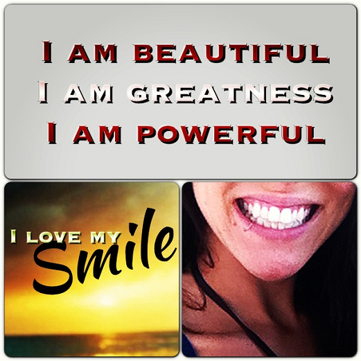 Fitness mindset - smile