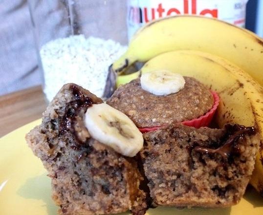 Healthyfied Nutella Muffin Recipe 002