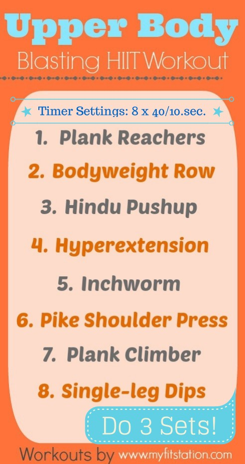 image regarding Printable Hiit Workouts referred to as Hiit Weight Training For Inexperienced persons