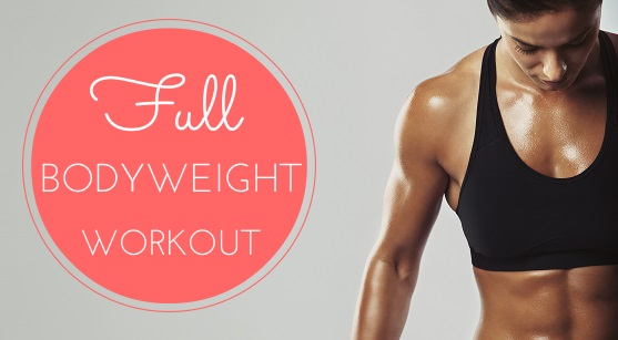 featured Full Bodyweight Workout