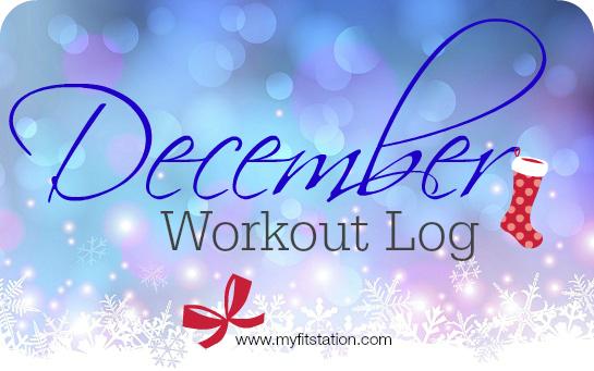 December workout log