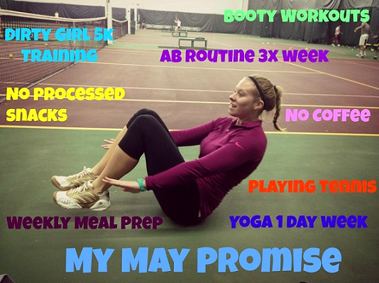 Andrea's Training Program - monthly promise