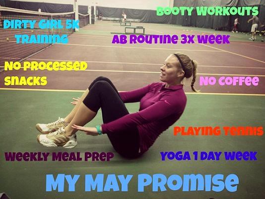 Andrea's Training Program - monthly promise