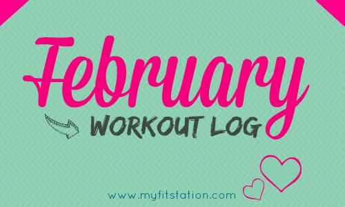 February 2014 Workout Log
