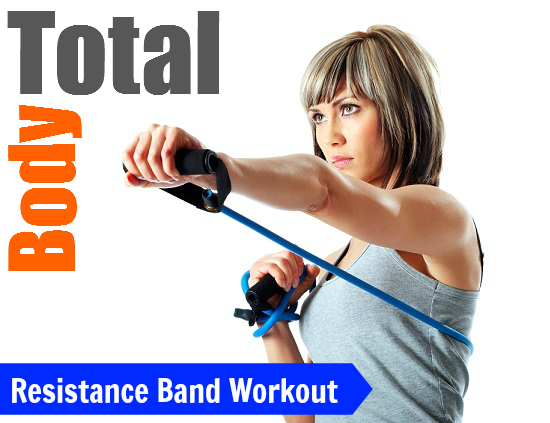 Total Body Resistance Band Workout