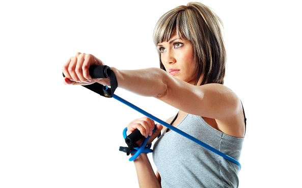 featured total body resistance band workout