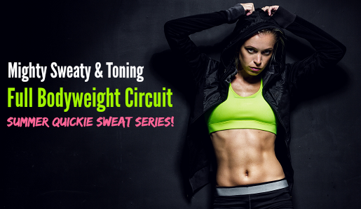 featured full bodyweight circuit