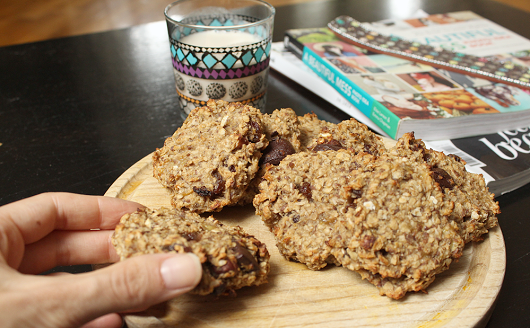 Healthy Chocolate Coconut Oatmeal Cookie Recipe 03