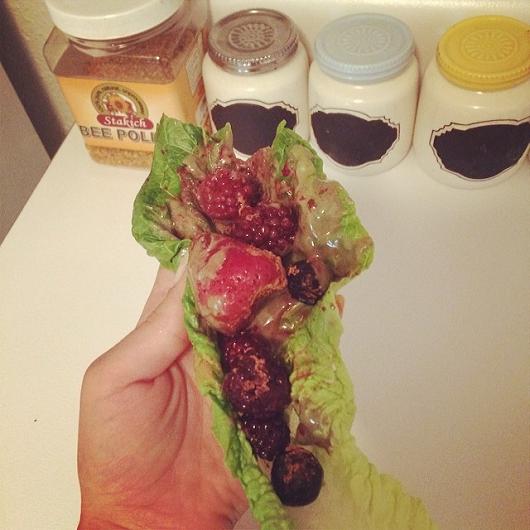 PB & J Breakfast Tacos Recipe