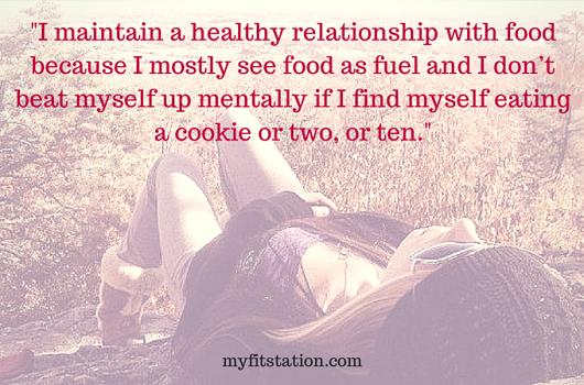 I trust my body - plant based diet