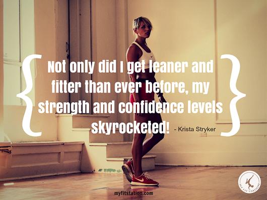 Interview with 12 Minute Athlete - Krista Stryker www.myfitstation