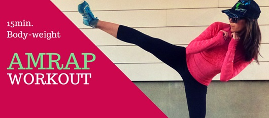 READY FOR ACTION featured - 15min. AMRAP Workout My Fit Station