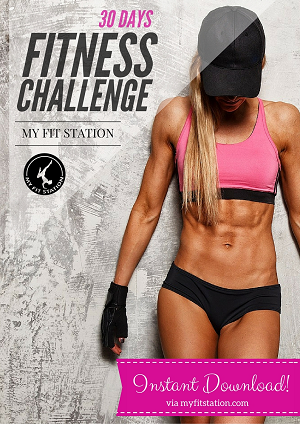 30 Day Fitness Challenge – My Fit Station banner