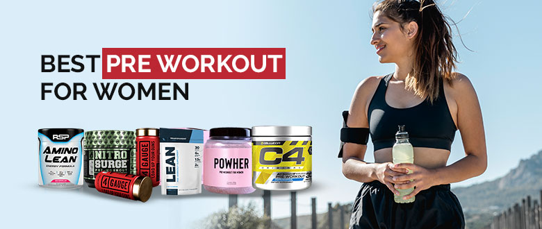 Best Pre Workout For Women Featured Image