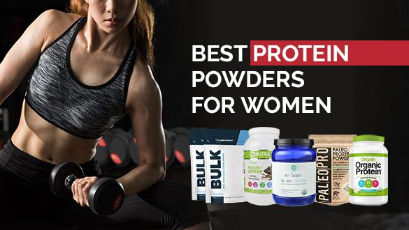 Best Protein Powders For Women Featured Image