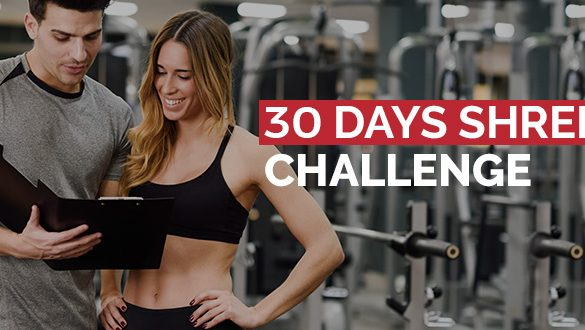 30 Day Shred Challenge Featured Image