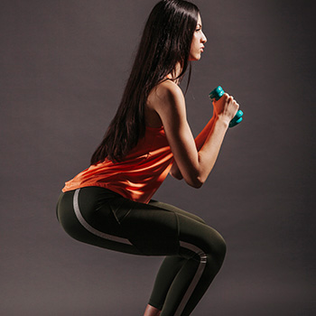 Dumbbell Squats