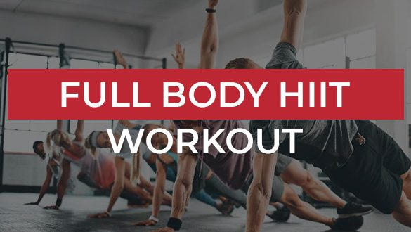 Full Body HIIT Workout Featured image